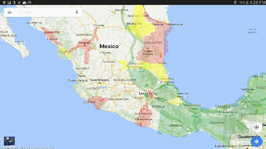 Driving Through Northern Mexico The Juicing Nomads – East Mexico Map