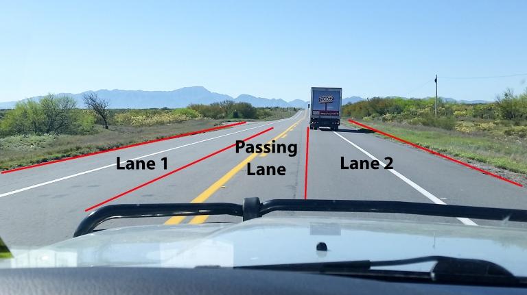 """""""2 lane road"""""""