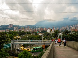 Pablado region of Medellin, where we stayed and enjoyed most of our time.