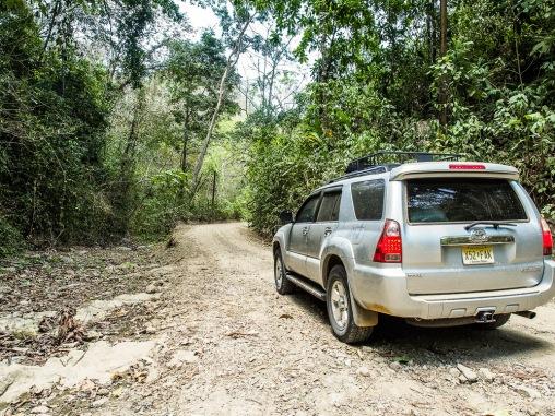 Rough roads on Nicoya
