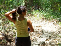 Hiking out to Cabo Blanco