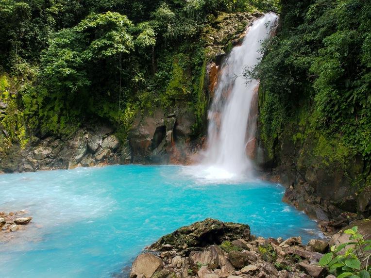 Rio Celeste's Waterfall