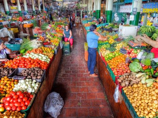 San Gil market.