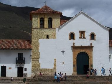 The impressive church that borders the main square.