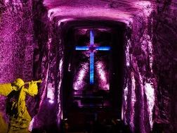 Vast salt halls made church halls and prayer rooms